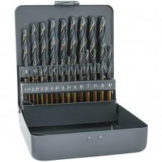 Trusa burghie HSS metal 25 bucati Alpen 0000810321100
