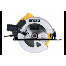Ferastrau circular de mana DeWalt DWE560, 1350 W, 65 mm adancime taiere, diametru disc 184 mm