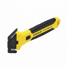 Cutit/Cutter cu protectie pt deschiderea cutiilor cu doua lame STANLEY FMHT10361-0