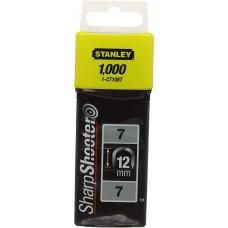 Pachet 1000 capse pentru cablu 12mm STANLEY 1-CT108T