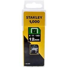 Pachet 1000 capse tapiterie TIPG 10.6x1.25x12mm STANLEY 1-TRA708T