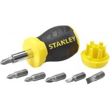 Surubelnita magnetica STUBBY STANLEY cu 6 varfuri  0-66-357