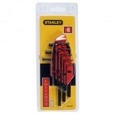 "Set de 8 chei imbus ""L"" metric 1.5-6mm STANLEY 0-69-251"