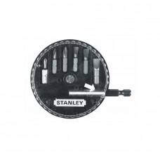 "Set 6 varfuri/biti cu adaptor 1/4"" STANLEY 1-68-735"