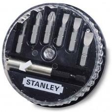 "Set 6 varfuri/biti cu adaptor 1/4"" STANLEY 1-68-737"