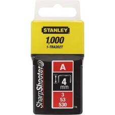 Pachet 1000 capse tapiterie TIPA 11.3x0.75x4mm STANLEY 1-TRA202T