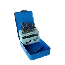 Set 19 burghie HSS pentru metal  1 - 10 mm HYUNDAI HY-10012019